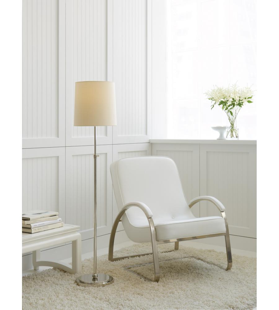 Visual Comfort TOB 1002PN-NP Thomas O\'Brien Modern Bryant Floor Lamp ...