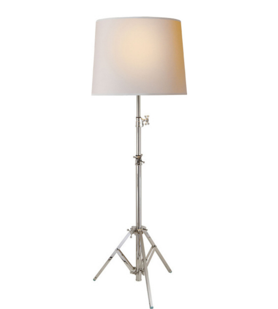 Visual comfort tob 1010pn np thomas obrien modern studio floor lamp visual comfort tob 1010pn np thomas obrien modern studio floor lamp in polished nickel with natural paper shade foundrylighting aloadofball Gallery