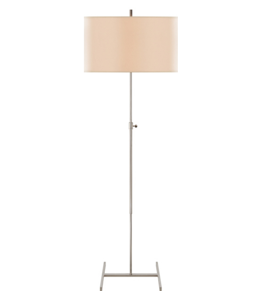 Visual comfort tob 1720pn np thomas obrien modern jake adjustable visual comfort tob 1720pn np thomas obrien modern jake adjustable floor lamp in polished nickel with natural paper shade foundrylighting mozeypictures Gallery