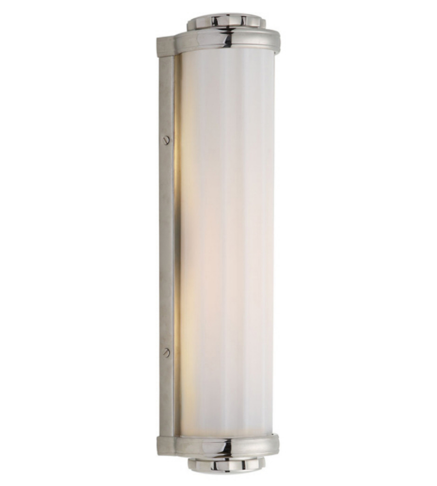 Visual comfort tob 2198pn wg thomas obrien traditional milton road visual comfort tob 2198pn wg thomas obrien traditional milton road bath light in polished nickel with white glass foundrylighting mozeypictures Choice Image