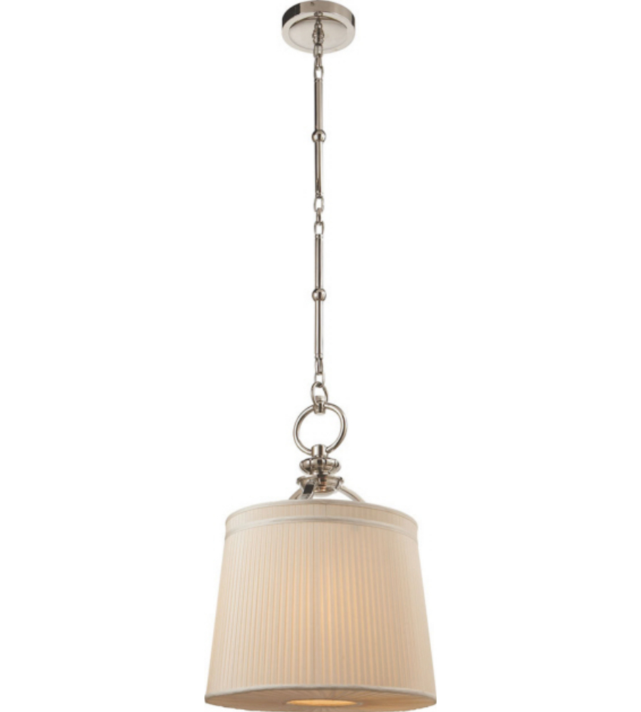 visual comfort tob5079pn s thomas o 39 brien d 39 arcy small hanging light. Black Bedroom Furniture Sets. Home Design Ideas