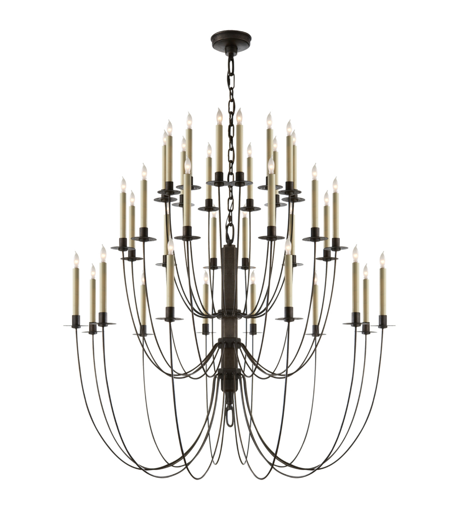 Visual comfort tob 5206ai thomas obrien traditional erika three visual comfort tob 5206ai thomas obrien traditional erika three tier chandelier in aged iron foundrylighting mozeypictures Images