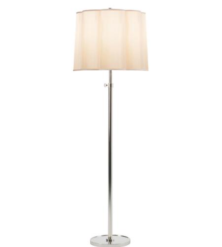 Visual comfort bbl1002wht s barbara barry lotus floor lamp for Lotus floor lamp white