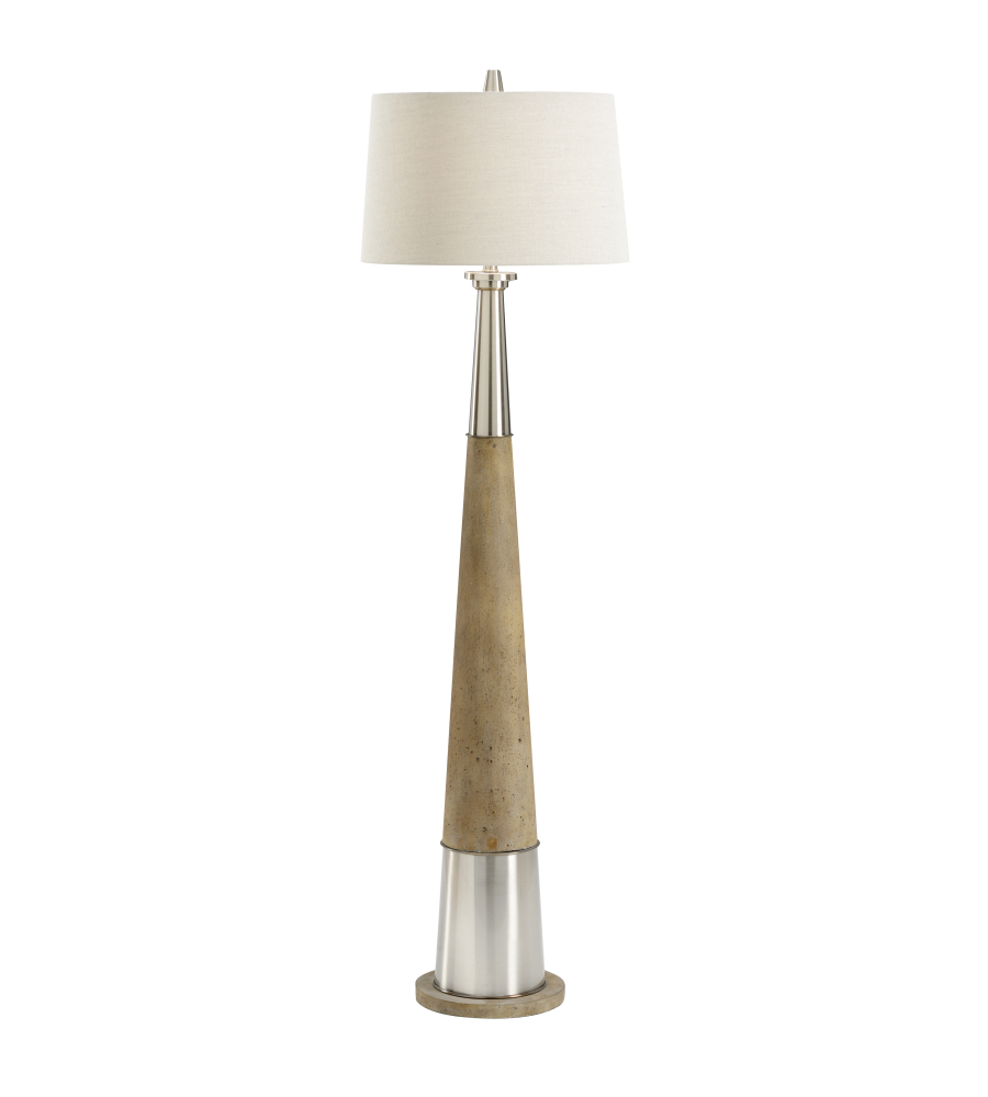 Wildwood lamps 21740 bob timberlake firehorn floor lamp in brushed wildwood lamps 21740 bob timberlake firehorn floor lamp in brushed foundrylighting mozeypictures Images