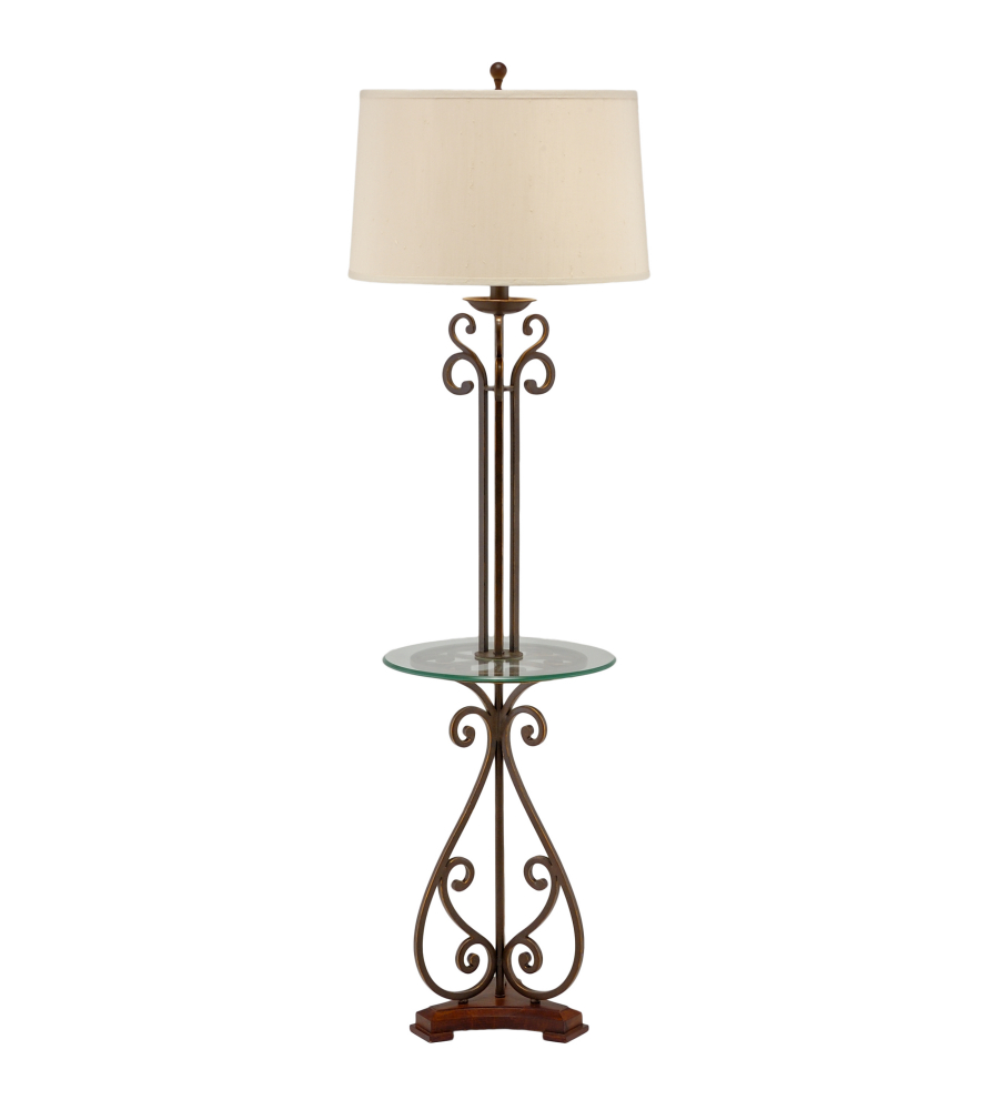 Wildwood Lamps 46877 Marketplace Table Floor Lamp In Blacksmith ...