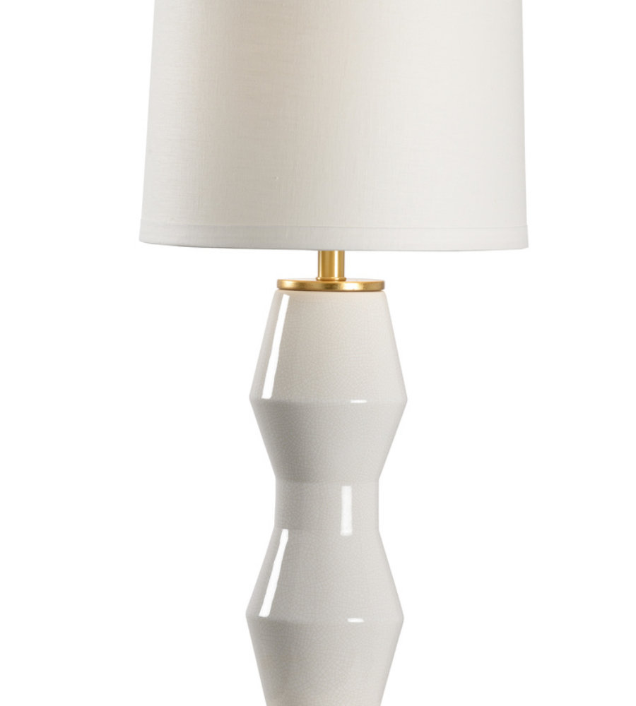crackle glaze lamp base
