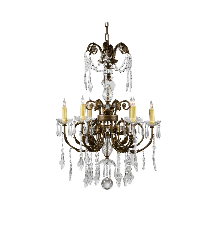 wildwood lamps 9359 wildwood chandelier in six lights