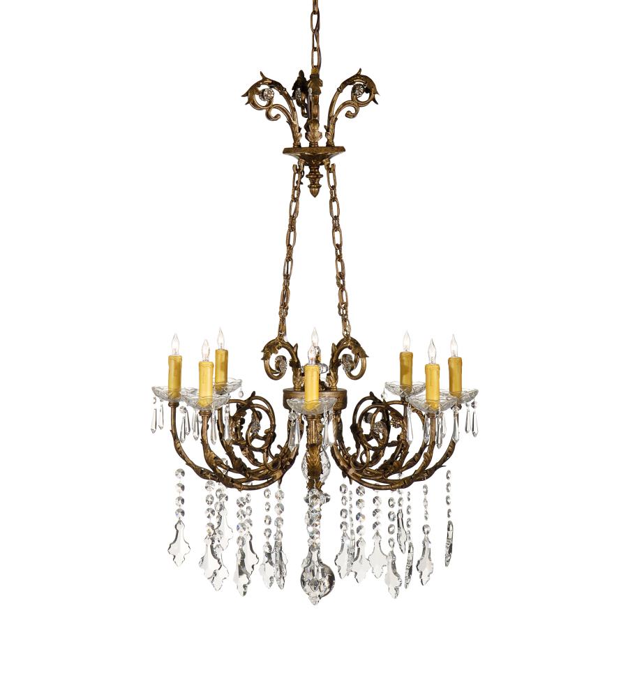 wildwood lamps 9360 wildwood chandelier in eight lights