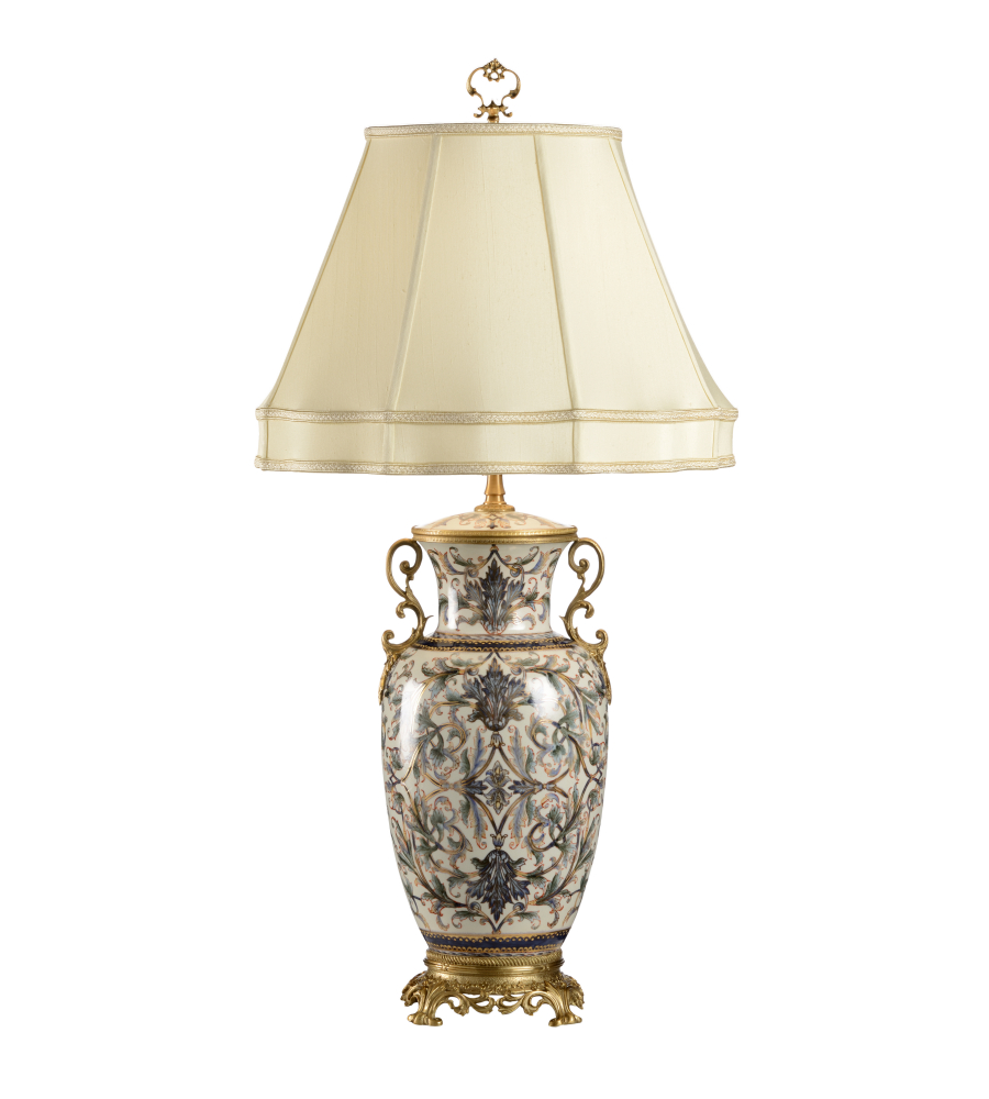 Wildwood Lamps 9387 Wildwood Shoji Lamp In Hand Painted |  FoundryLighting.com