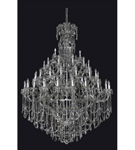 Allegri 023450 Brahms 66 Light Chandelier In Chrome