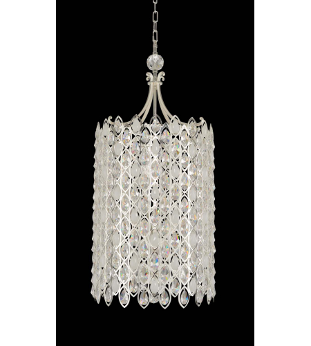 Allegri 028752-017-FR001 Prive Large Foyer in 2-Tone Silver with Firenze Clear
