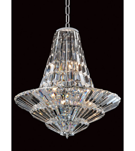 Allegri 11425-010-FR001 Auletta 12 Light Chandelier in Chrome
