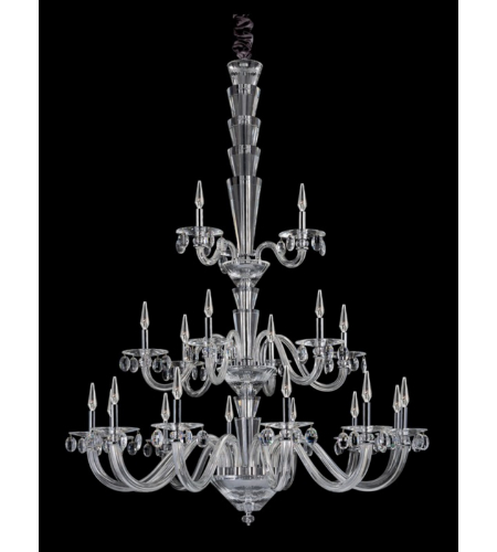 Allegri 11520-010-FR001 Fanshawe 21 Light Chandelier in Chrome