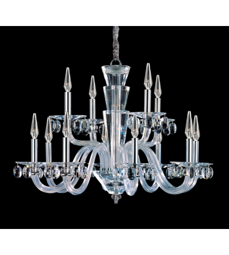 Allegri 11528-010-FR001 Fanshawe 12 Light Chandelier in Chrome