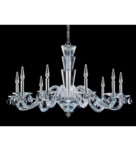 Allegri 11529-010-FR001 Fanshawe 9 Light Chandelier in Chrome