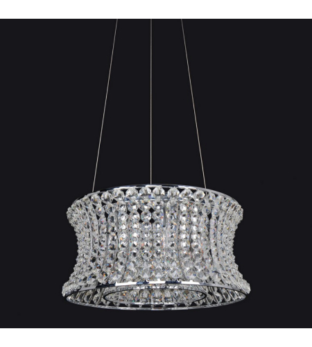 Allegri 11730 Corsette 16.5 Inch Round Pendant In Chrome