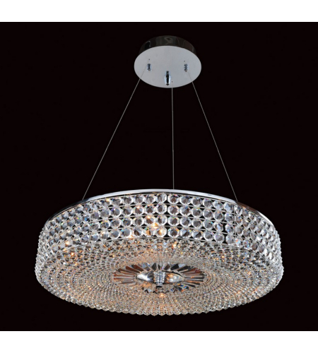 Allegri 11753-010-FR001 Arche 32 Inch Round Pendant in Chrome
