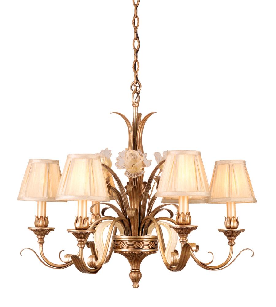 Corbett Lighting 49-06 6 Light Tivoli 6lt Chandelier In