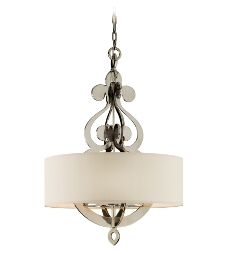 Corbett Lighting 102-48 8 Light Olivia 8lt Pendant In Polished Nickel