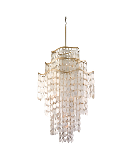 Corbett Lighting 109-719 19 Light Dolce 19lt Pendant In Champagne Leaf