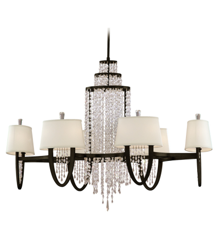 Corbett Lighting 130-012 12 Light Viceroy 12lt Chandelier Oval In Royal Bronze