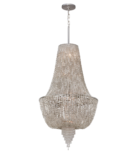 Corbett Lighting 141-46 6 Light Vixen 6lt Pendant In Polished Nickel
