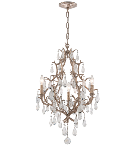 Corbett Lighting 163-03 3 Light Amadeus 3lt Chandelier In Vienna Bronze
