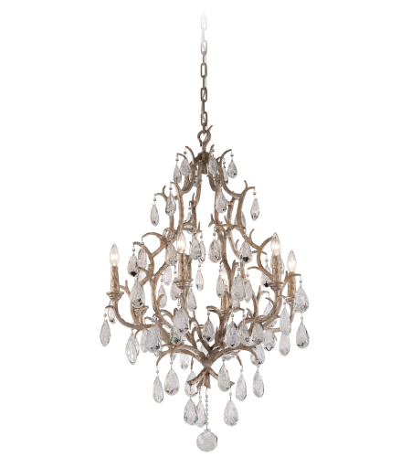 Corbett Lighting 163-06 6 Light Amadeus 6lt Chandelier In Vienna Bronze