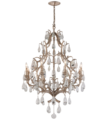 Corbett Lighting 163-08 8 Light Amadeus 8lt Chandelier In Vienna Bronze