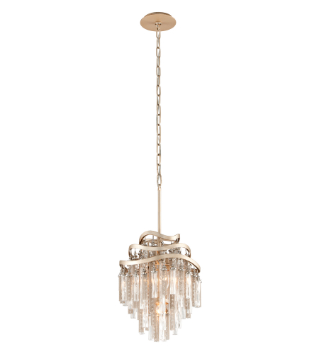 Corbett Lighting 176-43 3 Light Chimera 3lt Pendant In Tranquility Silver