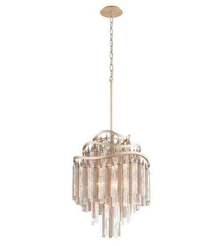 Corbett Lighting 176-47 7 Light Chimera 7lt Pendant In Tranquility Silver