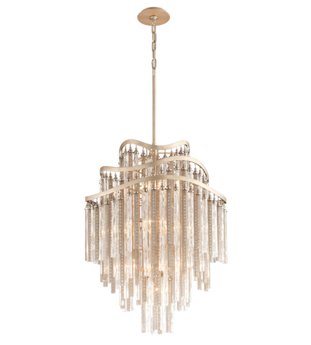 Corbett Lighting 176-710 10 Light Chimera 10lt Pendant Entry In Tranquility Silver