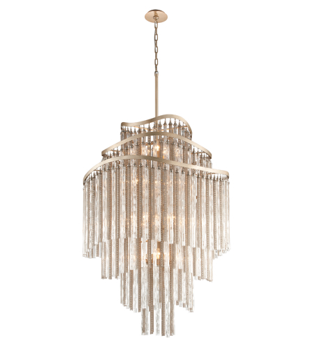 Corbett Lighting 176-718 18 Light Chimera 18lt Pendant Entry In Tranquility Silver