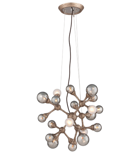 Corbett Lighting 206-424 24 Light Element 24lt Pendant In Vienna Bronze