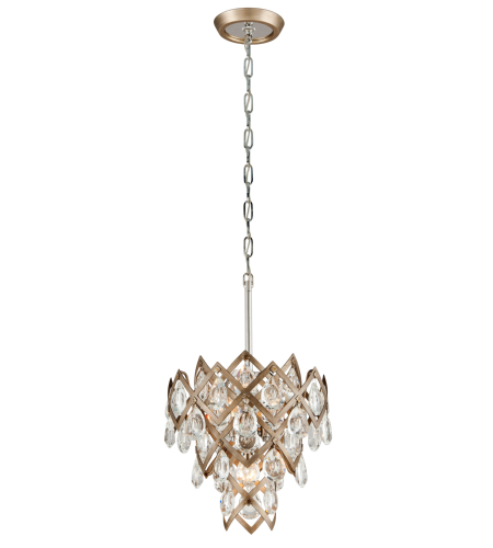 Corbett Lighting 214-44 3 Light Tiara 3lt Pendant In Vienna Bronze