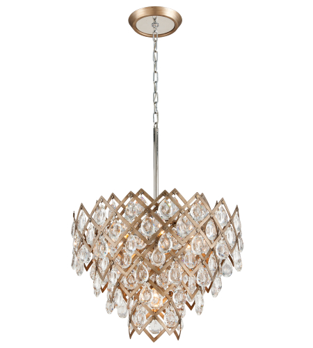 Corbett Lighting 214-47 7 Light Tiara 7lt Pendant Dining In Vienna Bronze