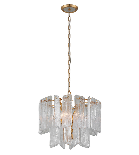 Corbett Lighting 244-44 4 Light Piemonte 4lt Chandelier In Royal Gold
