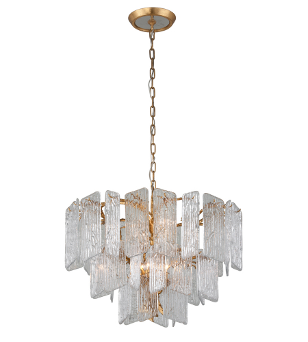 Corbett Lighting 244-48 8 Light Piemonte 8lt Chandelier In Royal Gold