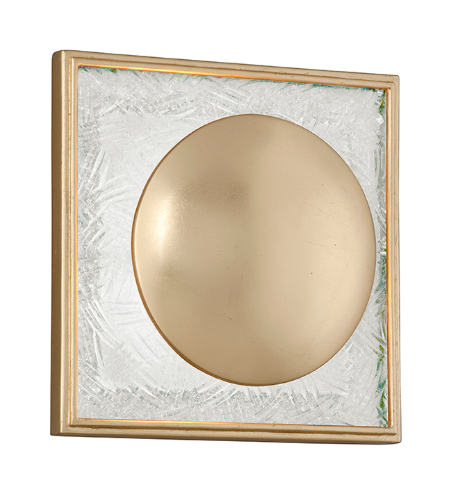 Corbett Lighting 247-11 1 Light Trance 1lt Wall Sconce In Gold Leaf