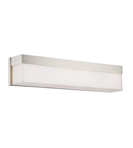 Crystorama 294-Pn Grayson 4 Light Bathroom Vanity In Polished Nickel