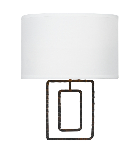 Crystorama 321-RS Lattice 2 Light Sconce in Raw Steel