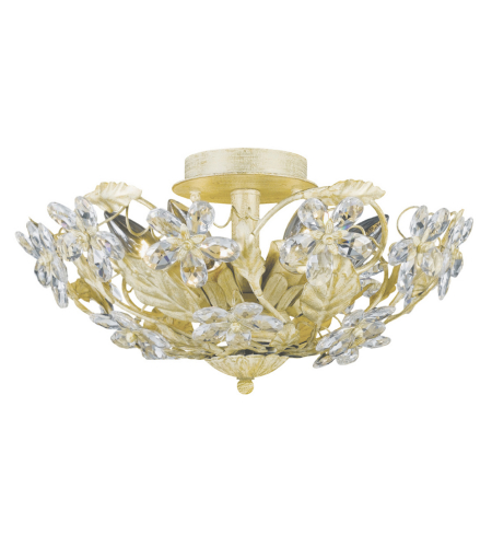 Crystorama 5316-CM Paris Market 6 Light Ceiling Mount in Champagne