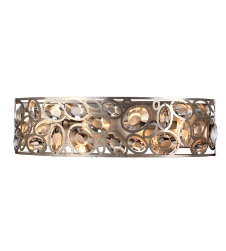 Crystorama 7585-DT Sterling 4 Light Bathroom-Vanity Light in Distressed Twilight