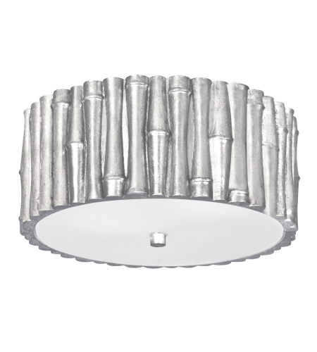 Crystorama 9010-SA Masefield 2 Light Ceiling Mount in Antique Silver