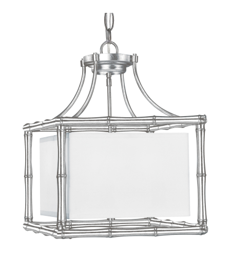 Crystorama 9014-SA Masefield 4 Light Chandelier in Antique Silver