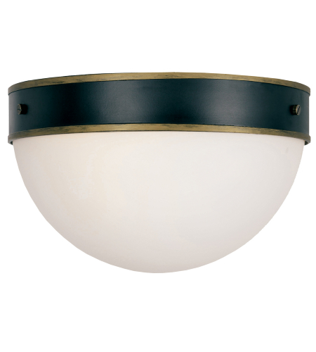 Crystorama Cap-8503-Mk-Tg Capsule 2 Light Outdoor Ceiling Mount In Matte Black + Textured Gold
