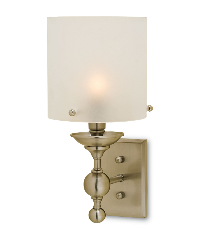 currey and company 5199 pennsbury wall sconce in brushed