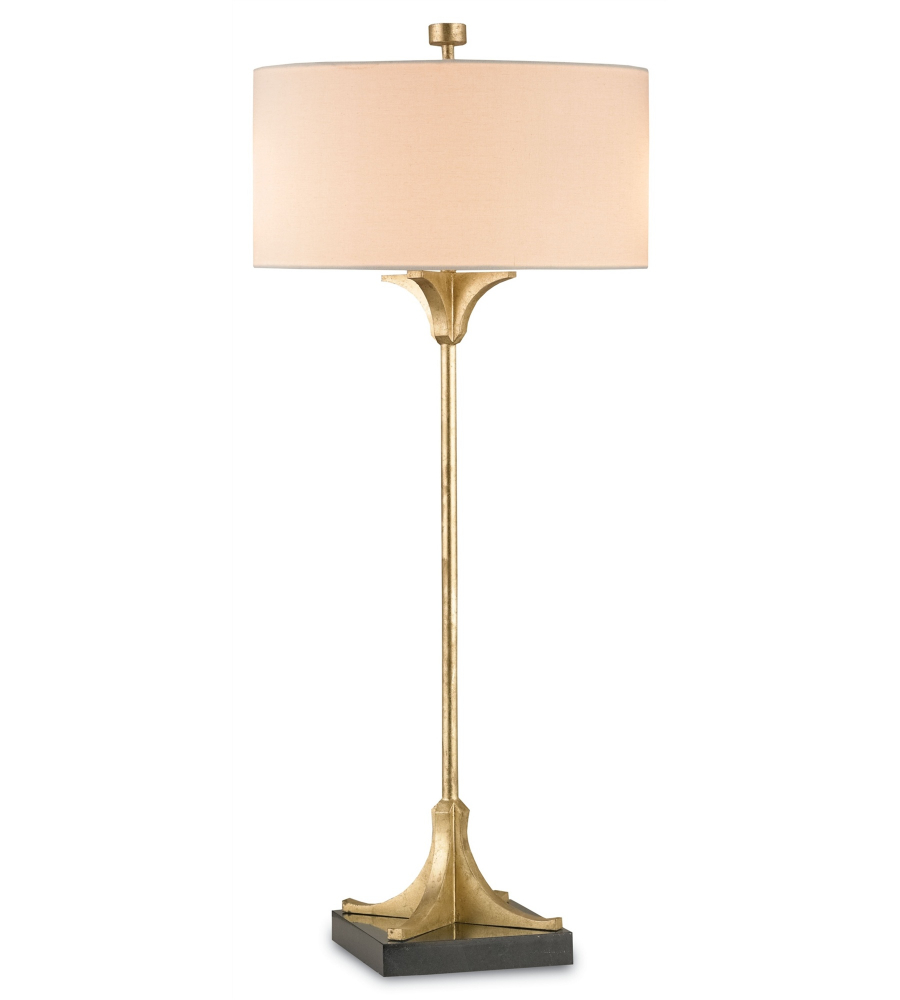 currey and company 6010 falset table lamp in dutch gold. Black Bedroom Furniture Sets. Home Design Ideas