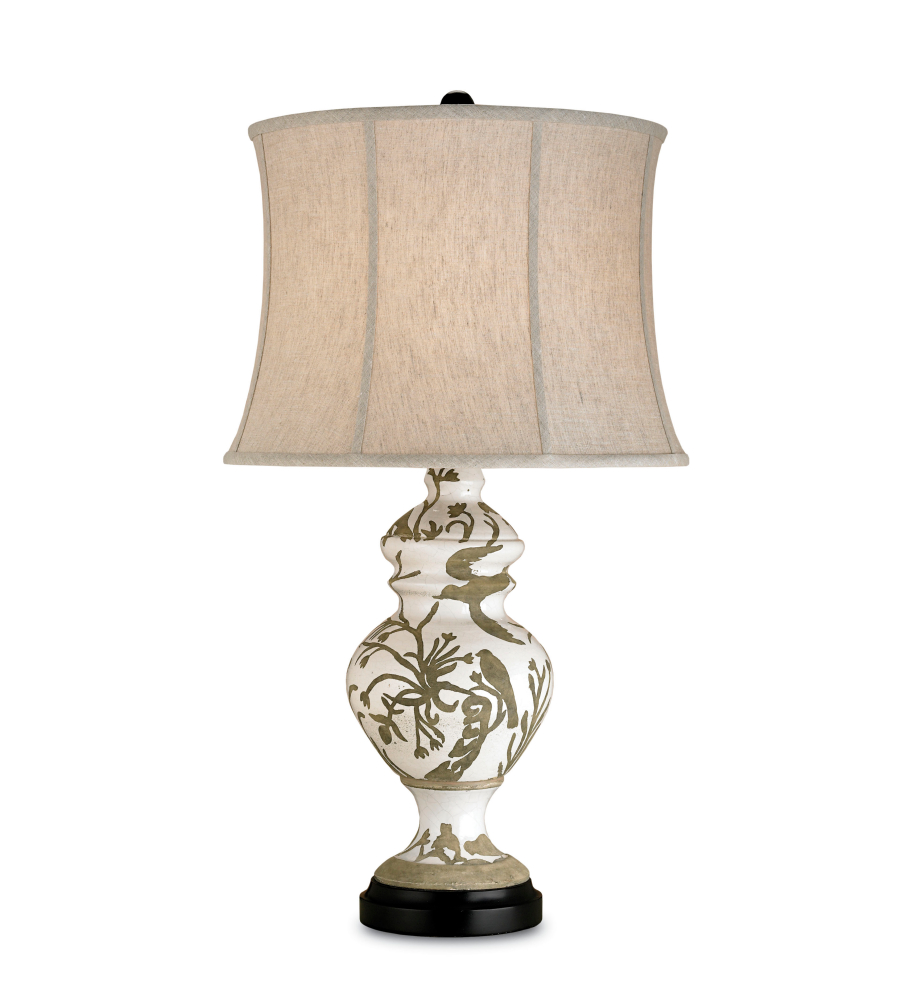 Currey And Company 6049 1 Light Giardino Table Lamp In