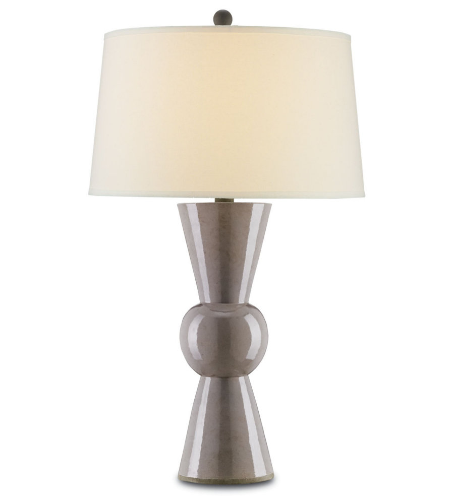 currey and company 6200 upbeat table lamp in gray foundrylighting. Black Bedroom Furniture Sets. Home Design Ideas